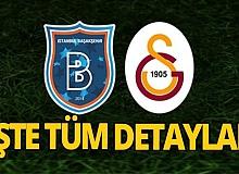 Galatasaray - Başakşehir maçı saat kaçta? Hangi kanalda?