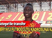Göztepe'de orta sahaya transfer