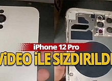 iPhone 12 Pro video ile sızdırıldı!
