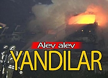 İstanbul haber: Korkutan yangın