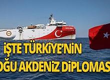 İşte Türkiye'nin Doğu Akdeniz diplomasisi
