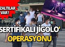Jigolo olma vaadiyle kandırdılar! Gözaltına alındılar