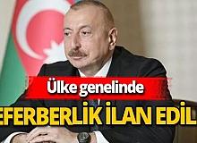 Azerbaycan kısmi seferberlik ilan etti!
