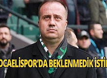 Kocaelispor'da istifa
