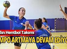 Konyaaltı Belediyesi Kadın Hentbol Takımı'nda tempo yükseliyor