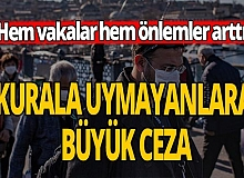 Kurallara uymayan yandı ! 98 bin lira ceza