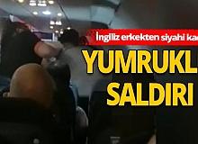 Londra-Antalya uçağında ırkçılık tartışması