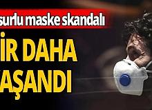 Maske skandalı!
