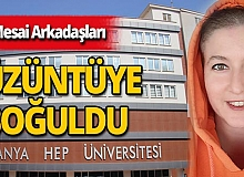 Antalya haber: 'Maskeli Şebnem' mesai arkadaşlarını üzüntüye boğdu