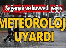 Meteoroloji'den 8 kent için uyarı