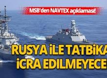 MSB'den NAVTEX açıklaması!