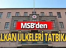 MSB'den Balkan Ülkeleri Özel Kuvvetler Tatbikatı notu
