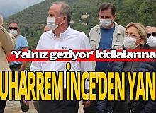 """Muharrem İnce'den cevap,  """"Türkiye'yi karış karış gezmeye devam ediyoruz '"""