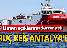 Oruç Reis Antalya'da