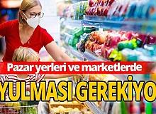 Pandemide mutfak alışverişi kuralları