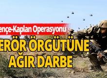 Pençe-Kaplan Operasyonu terör örgütüne ağır darbe