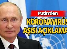 Putin'den BM Genel Kurulu'nda aşı açıklaması