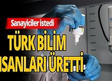 Sanayicileristedi, Türk bilim insanları üretti
