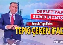 Selçuk Tepeli'nin ifadesi sosyal medyada gündem oldu