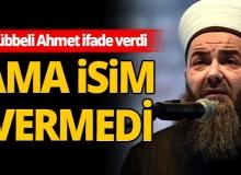 """""""Selefi dernekler silahlanıyor"""" diyen Cübbeli Ahmet ifade verdi"""