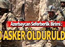 Son Dakika: 10 Ermenistan askeri öldürüldü!