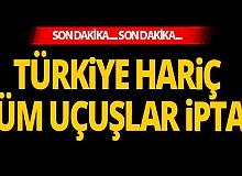 Son dakika: Azerbaycan'dan flaş karar! Türkiye hariç tüm uçuşlar iptal...