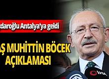 SON DAKİKA! Kılıçdaroğlu'ndan Başkan Böcek açıklaması