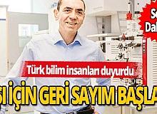 Prof. Dr. Uğur Şahin koronavirus aşısı için tarih verdi!