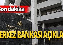 Son dakika! Merkez Bankası faiz kararını açıkladı!