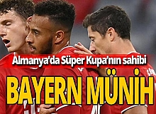 Son dakika!  Süper Kupa'nın sahibi Bayern Münih