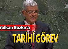 Son dakika... Volkan Bozkır başkanlığı devraldı