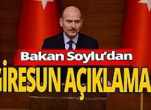 Süleyman Soylu'dan eleştirilere cevap