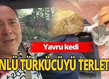 Antalya haber: Sümer Ezgü'nün aracına kedi kaçtı