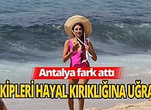 Turizmde Antalya farkı