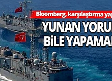 Türk ve Yunan donanmasını karşılaştırdılar