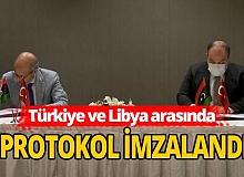 Türkiye ve Libya arasında protokol imzalandı
