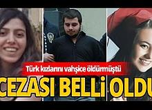 Ukrayna'da iki Türk kızının katilinin cezası belli oldu!