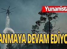 Yunanistan'da ikinci yangın alarmı