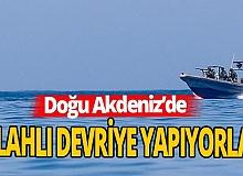 Yunanistan, Doğu Akdeniz'de gayrimeşru devriye yapıyor