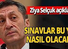 Ziya Selçuk'tan sınav açıklaması!