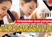 2204-B TÜBİTAK Bölge Yarışmasında Antalya'ya 15 ödül