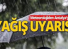 21 Ekim 2020 Antalya'da hava durumu