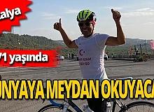 71 yaşındaki Ali Bıdı 'Ironman Dünya Şampiyonası Ön Eleme Yarışı'na gidiyor