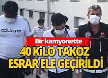 Adana'da dev uyuşturucu operasyonu