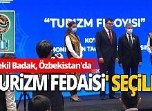AK Parti Vekili Sadık Badak'a Özbekistan'dan ödül