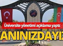"""Azerbaycan'a, Akdeniz Üniversitesi'nden """"bayraklı"""" destek"""