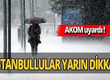 AKOM'dan kritik kuvvetli yağış uyarısı!