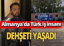 Almanya'da Türk iş insanına polis şiddeti