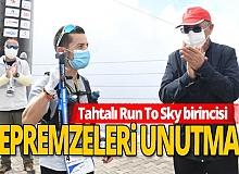 """Antalya'da """"Tahtalı Run To Sky"""" yarışması yapıldı"""