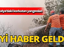Antalya'daki yangın kontrol altına alındı